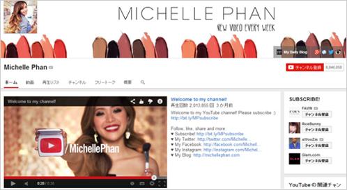 4)Michelle Phan(ミシェル・ファン)のコンテンツ・ピッチ