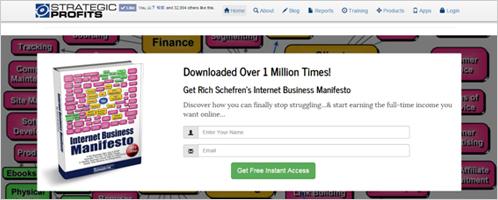 >3)Rich Schefren(リッチ・シェフレン) の事例