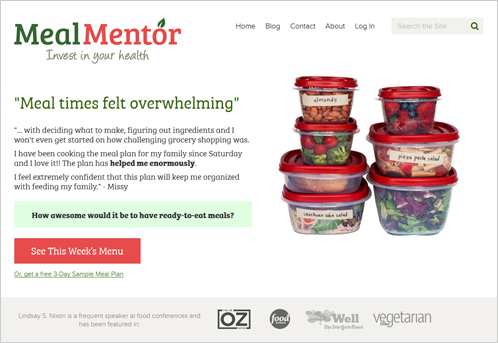 3)Meal Mentor