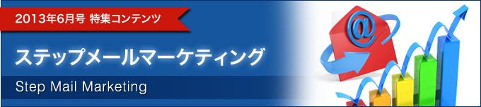 2013年6月号特集ステップメールマーケティング