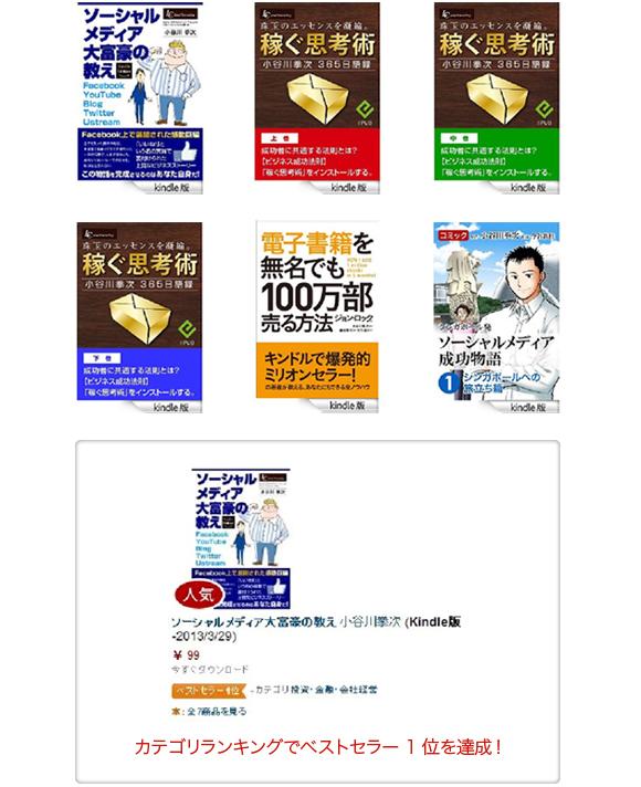小谷川拳次電子書籍紹介